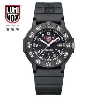 【瑞士LUMINOX雷明時】經典系列4.3cm腕錶(黑)