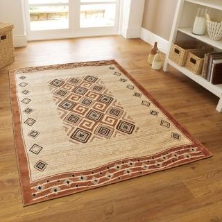 【范登伯格】薩斯狂野大地絲質地毯-木藤-共兩色(140x190cm)