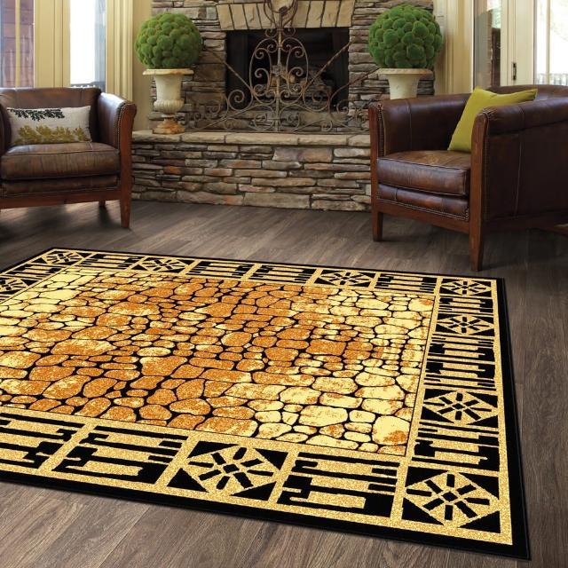 【范登伯格】薩斯狂野大地絲質地毯-霸紋(140x190cm)