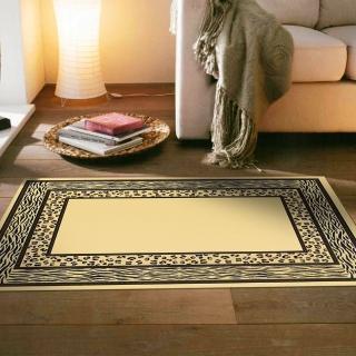 【范登伯格】薩斯狂野大地絲質地毯-豹紋水紋(70x105cm)