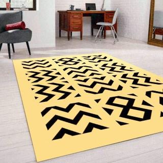 【范登伯格】薩斯狂野大地絲質地毯-雷紋(70x105cm)