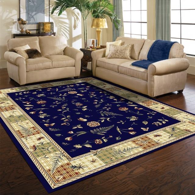 【范登伯格】薩比精緻雅典柔爽絲質感地毯玄關墊-小品-共二色(160x230cm)/