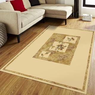 【范登伯格】薩比精緻雅典柔爽絲質感地毯-花舞(140x190cm)