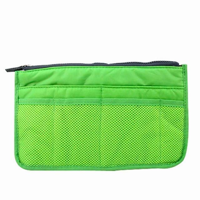 【iSFun】空氣感包*舖棉包中袋(綠)