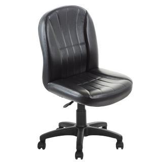 【吉加吉】高背方條 皮椅 電腦椅 TW-1012(黑色)