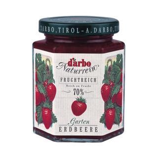 【Darbo 奧地利】70%果肉天然風味果醬-花園草莓(200g)