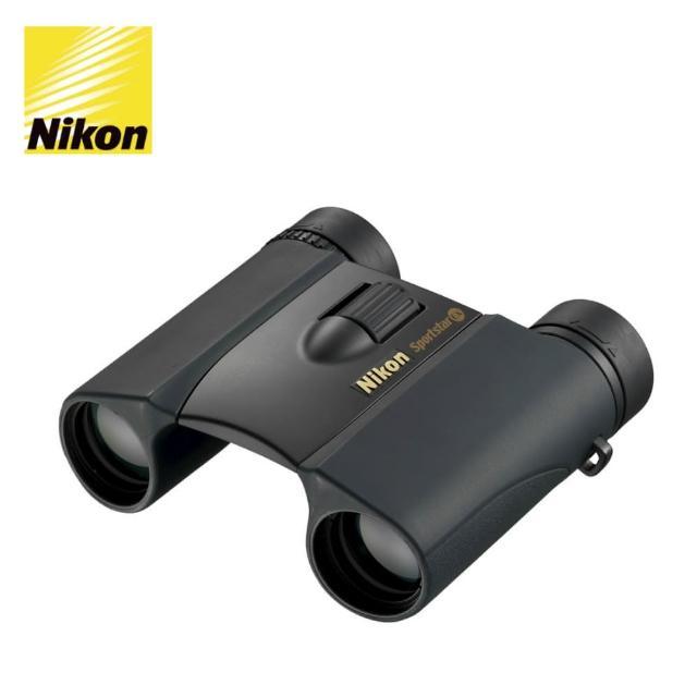 【日本Nikon尼康】SportStar EX  10x25 DCF 雙筒望遠鏡(黑色 公司貨)