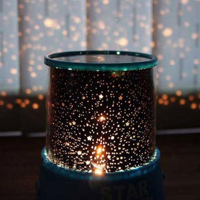 【PS Mall】浪漫款天體投射燈/ 投影儀 投影燈 仿月份星空 paris(J065)