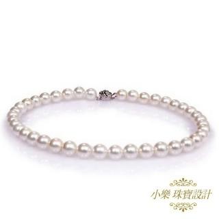 小樂珠寶-圓圓滿滿款-超美3A天然珍珠項鍊