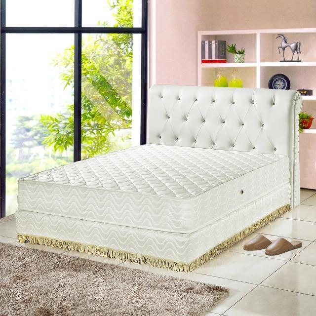 【睡芝寶-飯店用-透氣3M防潑水蜂巢式獨立筒床墊-單人】