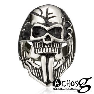 【ACHOS】the Death Knight死亡騎士 潮流西德鋼戒