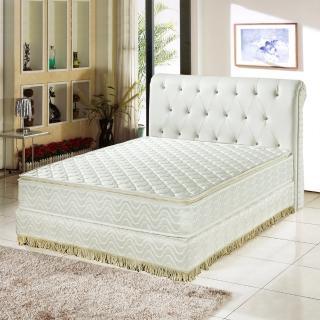 【睡芝寶-正三線-3M防潑水蜂巢式-獨立筒床墊厚24cm-雙人】