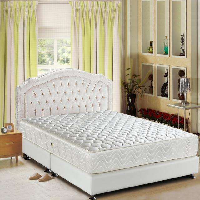 【睡芝寶-3M防潑水+透氣涼席-健康護背床墊-單人】