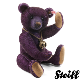 【STEIFF德國金耳釦泰迪熊】Monty Teddy Bear 28cm(限量版泰迪熊)