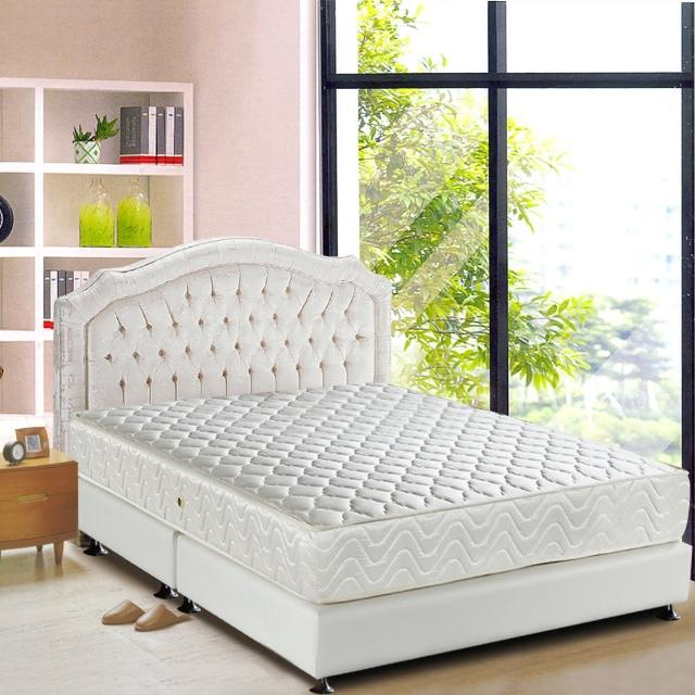 【睡芝寶-完美備長碳矽膠+3M防潑水-蜂巢式獨立筒床墊-單人】