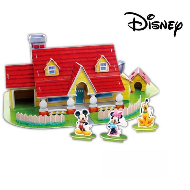 【酷博士】迪士尼DISNEY-3D立體模型組合屋(米奇屋)