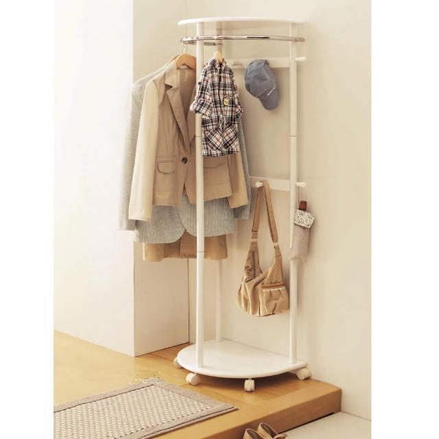 【C&B】千歲半圓省空間和風吊衣架(三色可選)