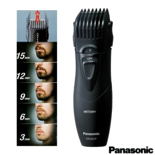 【Panasonic】輕巧型可水洗修鬍修鬢角器ER2403