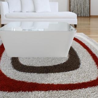 【范登伯格】梅洛絲☆進口長毛地毯-框格(160x230cm)