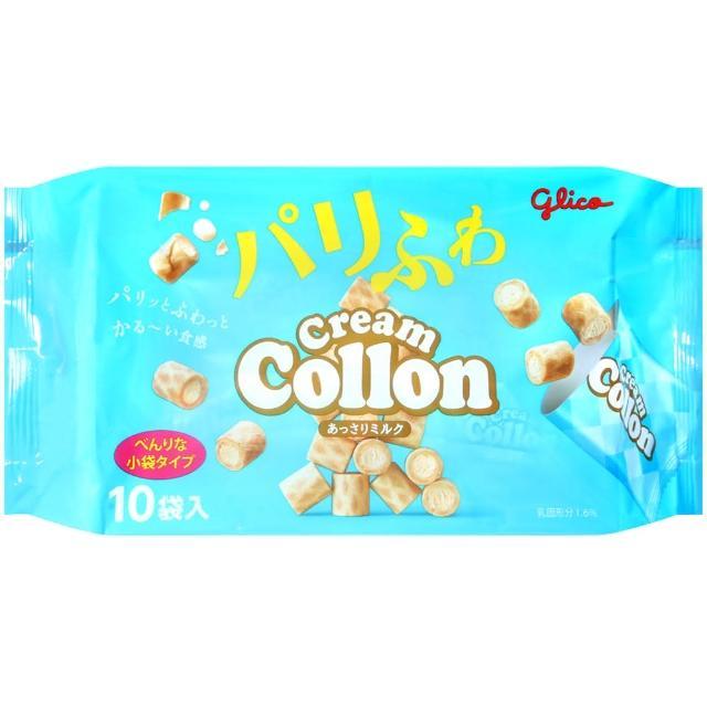 【Glico固力果】奶油捲心餅(11袋入)