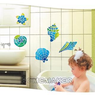 【LK】貝殼馬賽克吸塑壁飾貼(LK-RCA3504V)