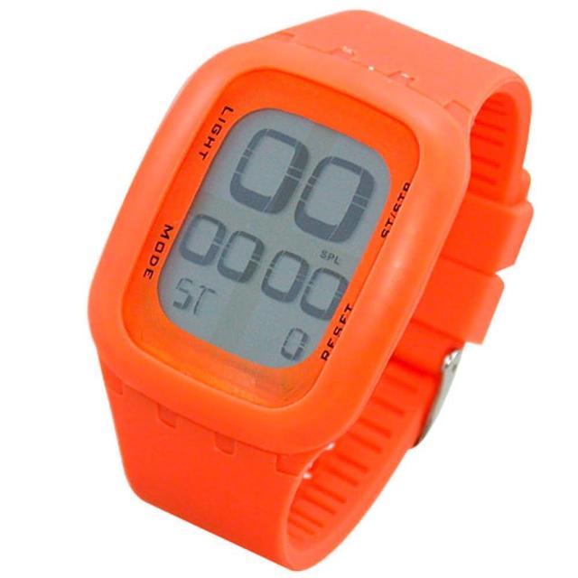 【Mirabelle】魔控方塊*觸控液晶膠錶/橙