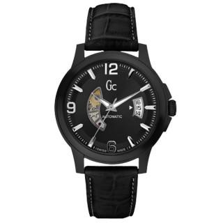 【Gc】尊爵個性機械腕錶(黑 X84005G2S-SWISS MADE)
