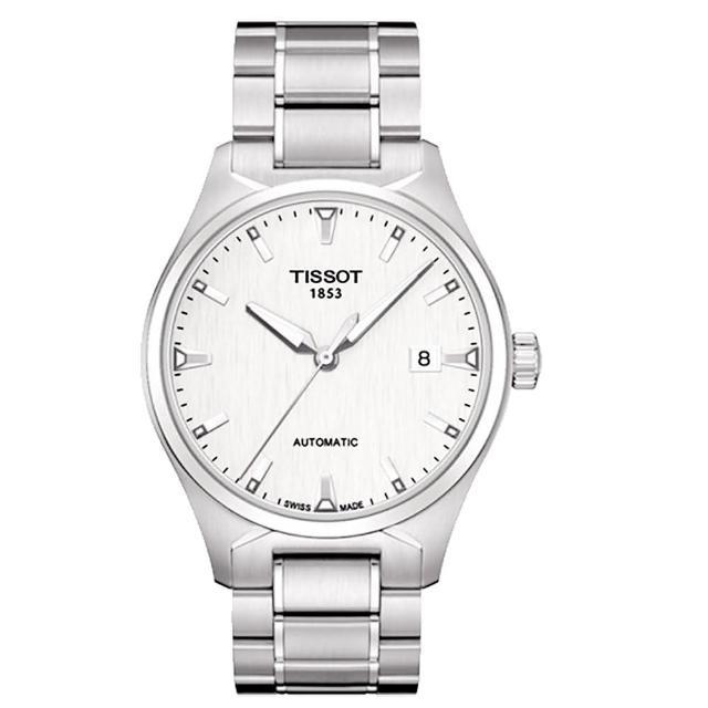 【TISSOT】T-Tempo 都會時尚機械腕錶-白(T0604071103100)