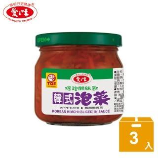 ~愛之味~韓式泡菜^(190g^~3^)