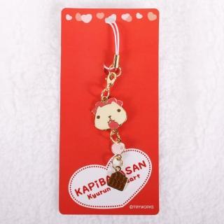 【Kapibarasan 】水豚君愛心系列巧克力吊飾