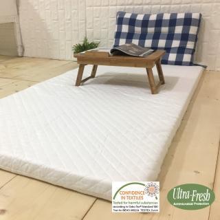 【McQueen 麥皇后】《自然派》5公分天然乳膠床墊(單人加大3.5尺)