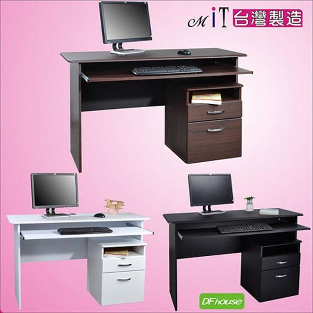 《DFhouse》黑森林電腦桌+檔案櫃(3色)