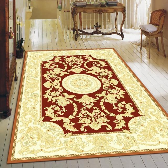 【范登伯格】卡里☆頂級立體雕花絲質地毯-后豔(150x230cm)