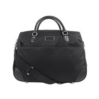 【agnes b.】硬質旅行袋(黑)