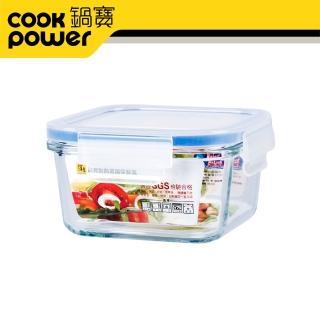【CookPower 鍋寶】耐熱玻璃保鮮盒500ml(BVC-0502-1)