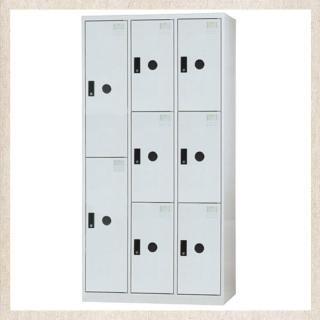 【時尚屋】DJ多用途鋼製置物櫃(8-8)