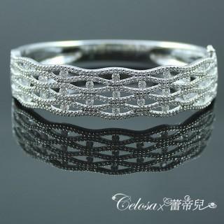 【Celosa珠寶】-晶采許願晶鑽手環