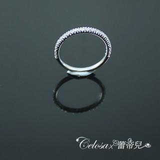 【Celosa珠寶】-簡麗晶鑽戒