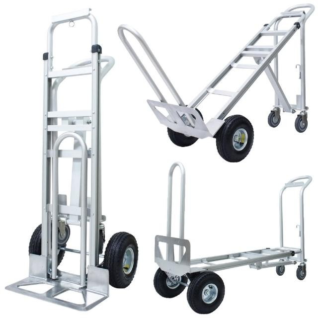 【COLOR】三合一多功能铝制手推车