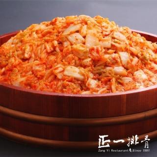 【正一排骨】部落客推薦 韓式泡菜3罐(700G/罐)