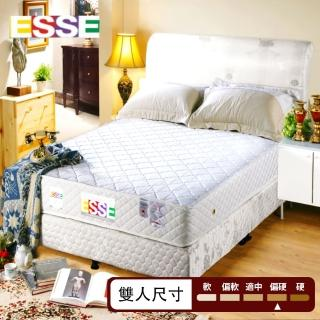 【ESSE御璽名床】健康記憶2.3硬式彈簧床墊(5*6.2尺 雙人)