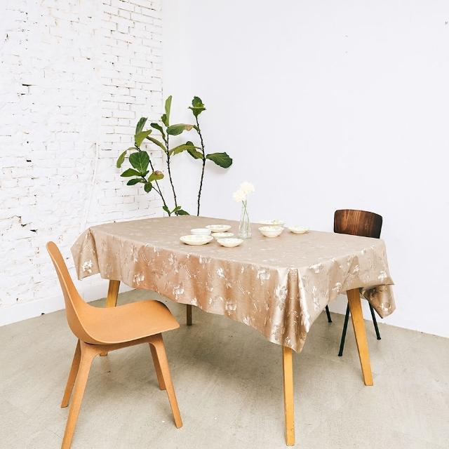 【Homemaker】古典印花金屬桌巾-長150cmX寬137cm(RN-PW143-026)