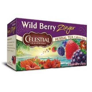 【Celestial 詩尚草本】美國原裝進口 野莓活力茶(20環保包)