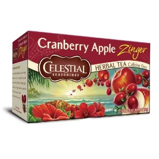 【Celestial 詩尚草本】美國原裝進口 蔓越莓蘋果活力茶(20環保包)