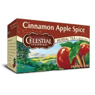 【Celestial 詩尚草本】美國原裝進口 蘋果肉桂茶(20環保包)