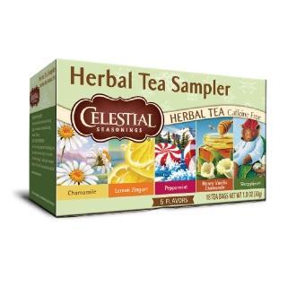 【Celestial 詩尚草本】美國原裝進口 草本綜合茶(18入環保包 5種口味)