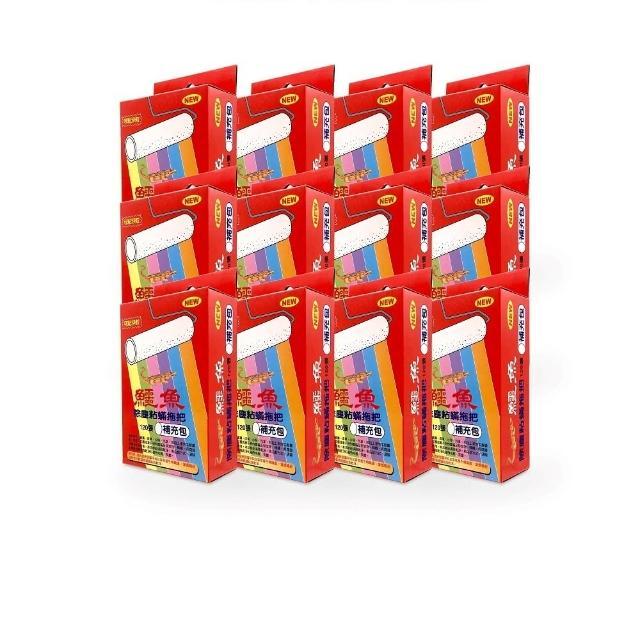【鱷魚】除塵粘蹣拖把補充包(120張/盒  12盒)