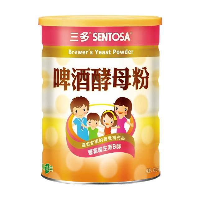 【三多】健康系列 啤酒酵母粉(400g/罐)