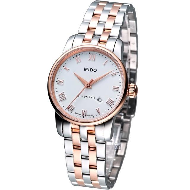 【MIDO】Baroncelli 小提琴系列 機械錶(M76009N61雙色款)