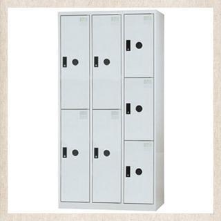 【時尚屋】DJ多用途鋼製置物櫃(8-7(灰))